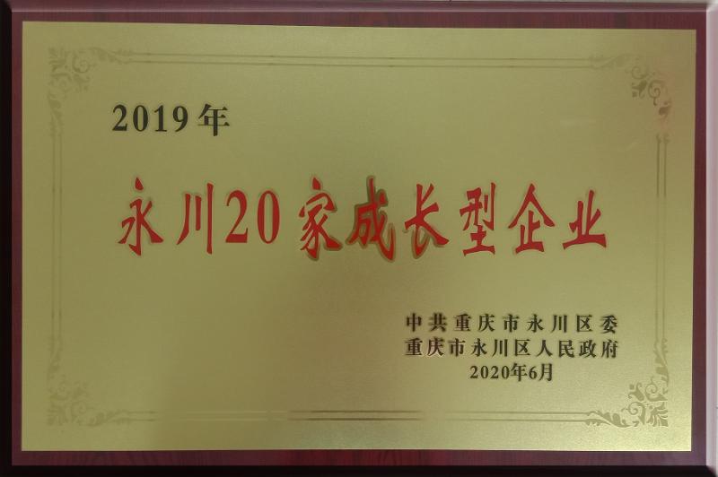 永川20家成长型企业